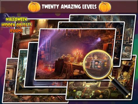 Halloween Hidden Object Rooms apk screenshot