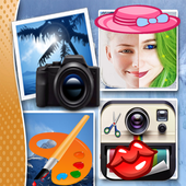 Photo pro Editor Stickers Cute icon