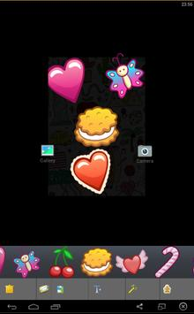 Photo pro Editor Stickers Cute screenshot 3