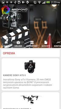 Propono Multimedia screenshot 1