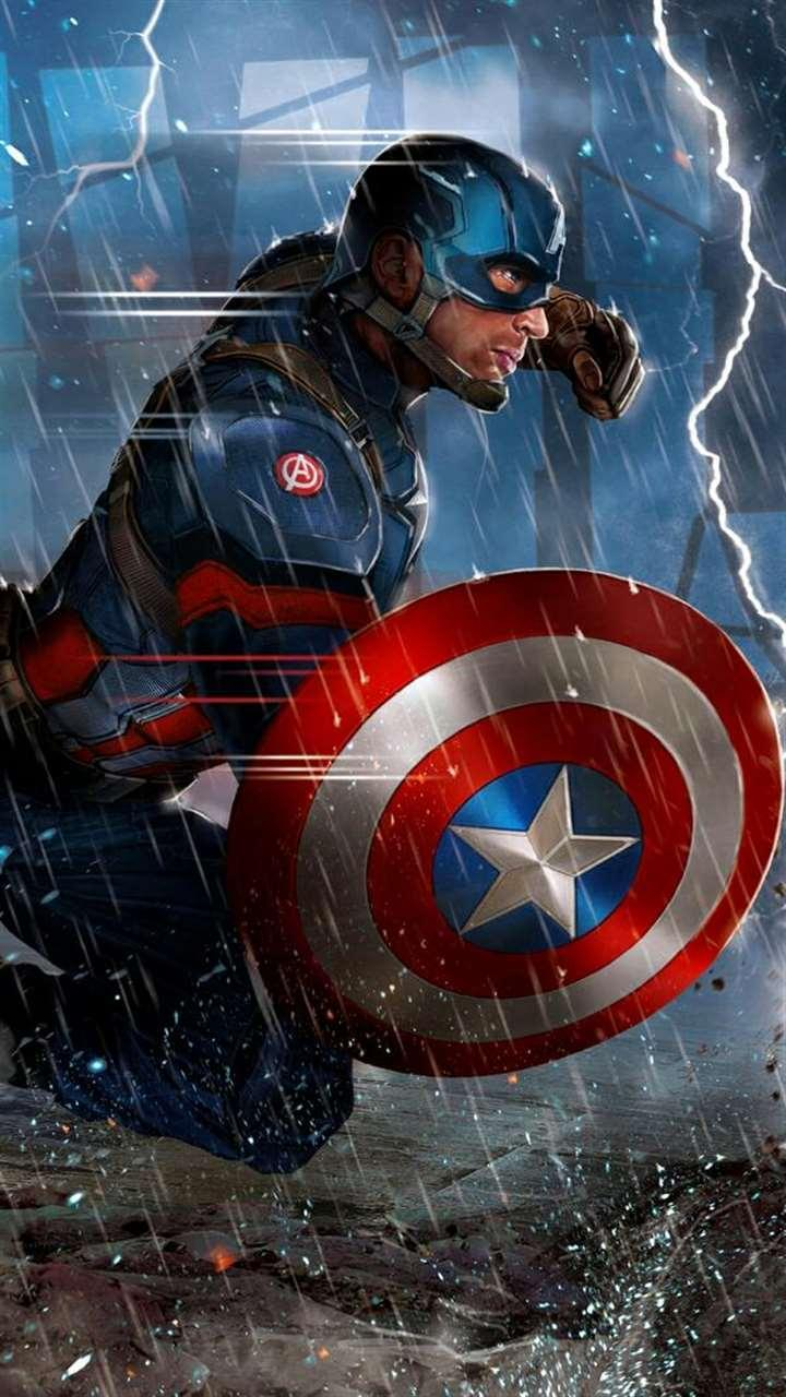 Captain America Lock Screen Hd Wallpapers For Android Apk