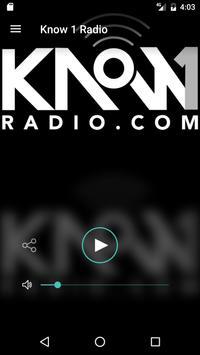 Know 1 Radio poster