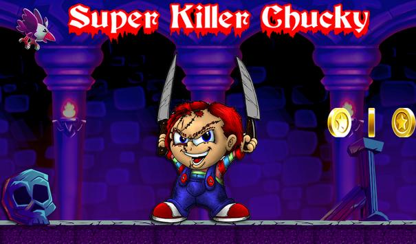 Run Killer Chucky game poster