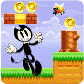 Bendy Run Worlds Game 2 icon