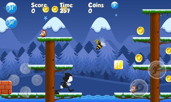 Bendy Run worlds game apk screenshot