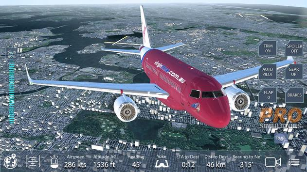 Pro Flight Simulator NY Free apk screenshot