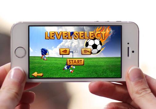 Super Sonic Soccer Adventure screenshot 1