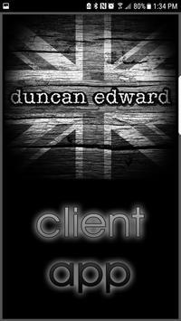 Duncan Edward Salon poster