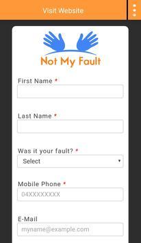 Not My Fault apk screenshot