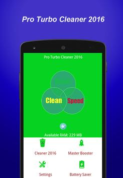 Pro Turbo Cleaner 2016 apk screenshot