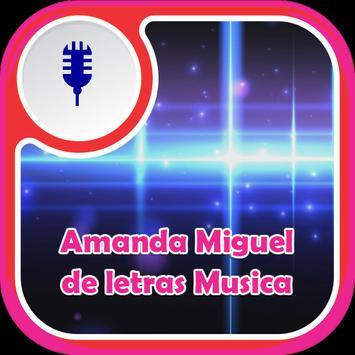Amanda Miguel de Letras Musica poster