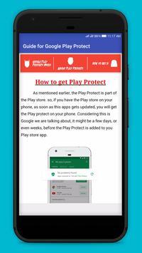 Guide for Google Play Protect apk screenshot