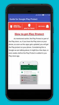 Guide for Google Play Protect apk screenshot