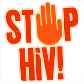 Stop HIV icon