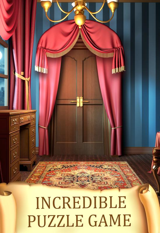 100 Doors Hidden Objects Apk Download Gratis Teka Teki