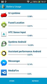 Assistant performance Android screenshot 3