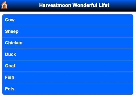Walkthrough Harvestmoon Wonderful Life apk screenshot