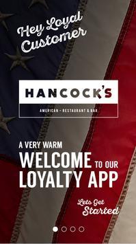 Hancock's poster