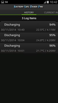 Battery Life Saver for Android apk screenshot