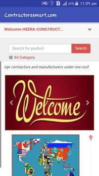 Contractorssmart.com screenshot 1