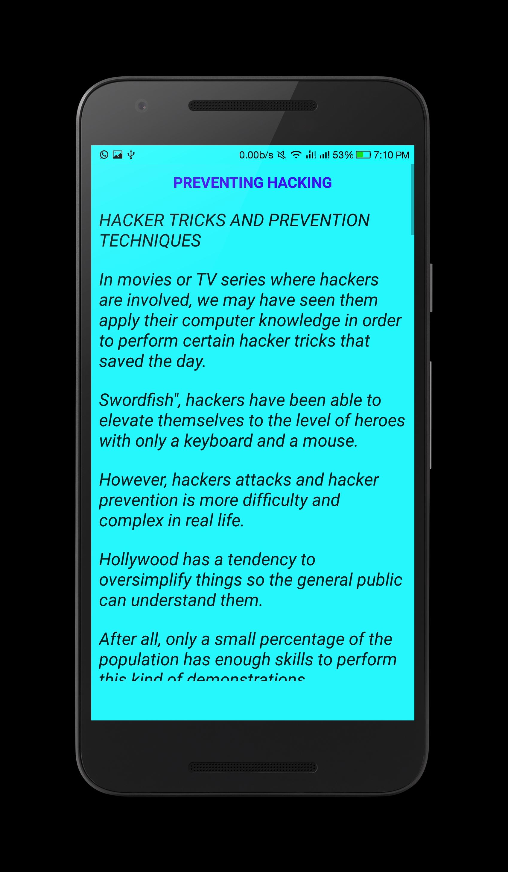 Hacking Fundamentals for Android - APK Download