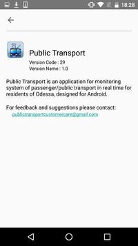 Public Transport screenshot 1