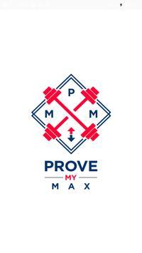 Prove My Max poster