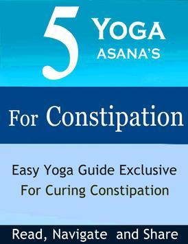 5 Yoga Poses for Constipation apk screenshot