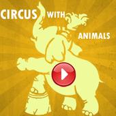 Circus Show Animals Videos icon