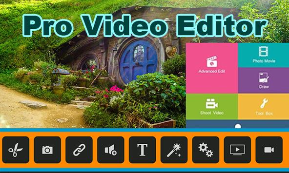 Pro Video Editor Free Download 2018 poster