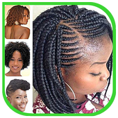 African Hairstyle for Woman icon