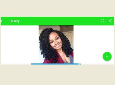 African Hairstyle for Woman apk screenshot