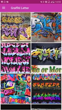 3D Graffiti Letter Design poster