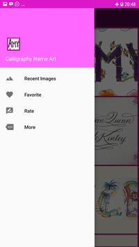 Calligraphy Name Art Design poster