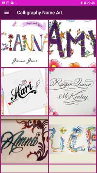 Calligraphy Name Art Design screenshot 1