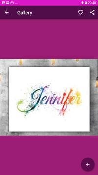 Calligraphy Name Art Design screenshot 2