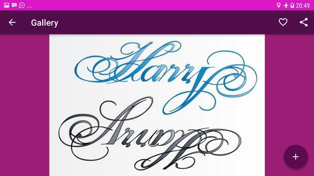 Calligraphy Name Art Design screenshot 4