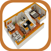 3D Simple House Designs icon