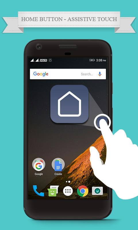 Android Home Button Definieren