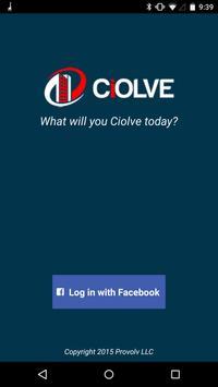 Ciolve Mobile poster