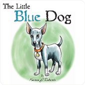 The Little Blue Dog icon