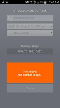 PWF Uploader screenshot 3