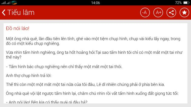 Truyện cười - Truyen offline apk screenshot