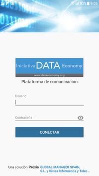 Data Economy Teamwork poster