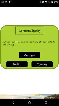 ContactsCloseby apk screenshot