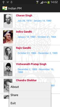 Indian Prime Ministers screenshot 2