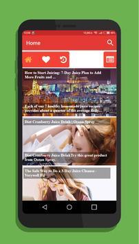 Diet Juice - Recipes & Tips screenshot 2