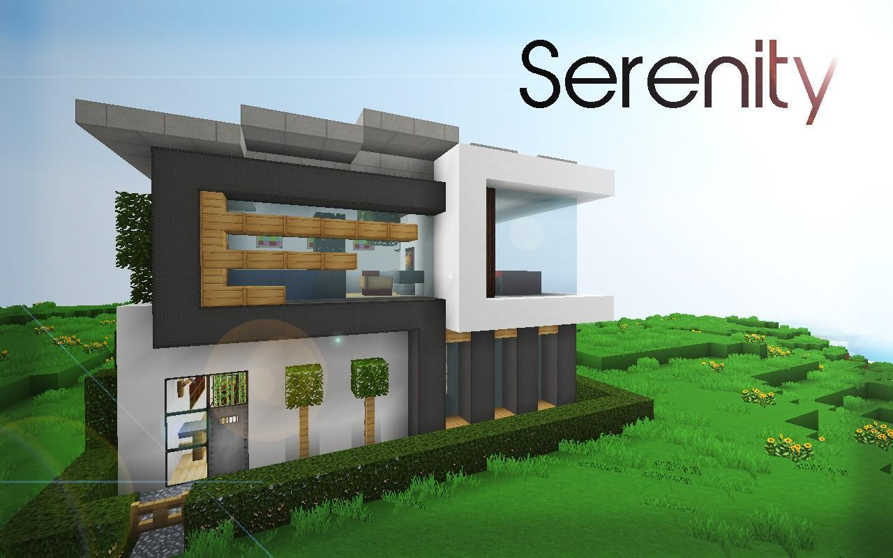 Modern House Ideas MCPE MODS for Android - APK Download