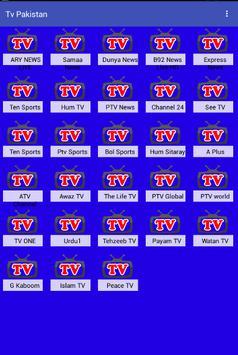 Pakistan TV Live apk screenshot