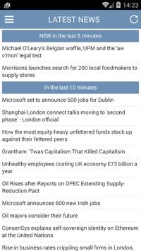 Latest Business News apk screenshot